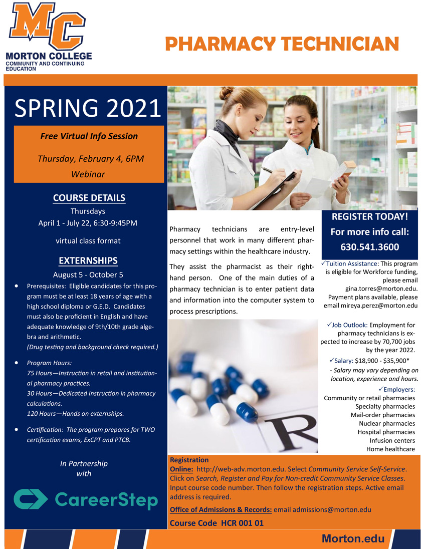Pharmacy-Technician-Spring-2021